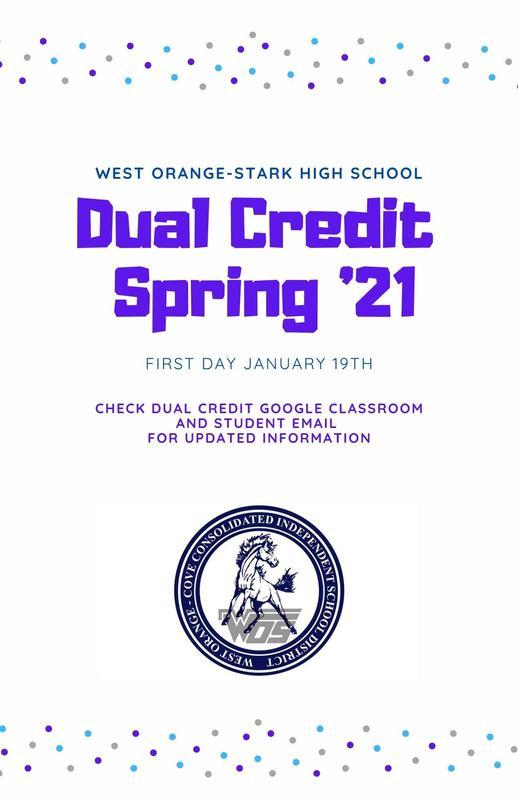 dual credit flyer