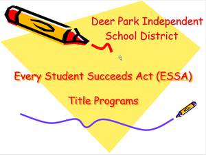 Every Student Succeeds Act - Title 1 Information