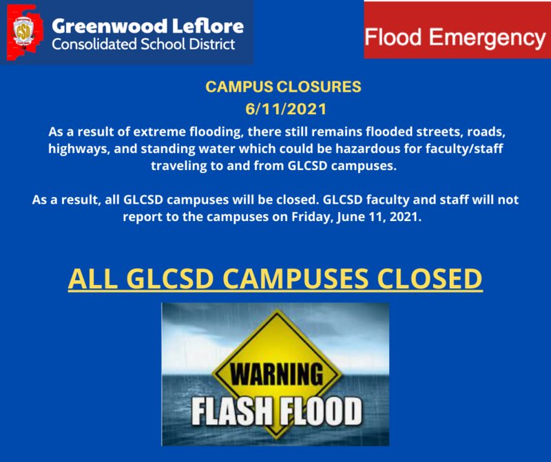 FACULTY/STAFF WILL NOT REPORT FRIDAY, JUNE 11, 2021 Featured Photo