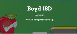 Pre-K and Kinder Roundup 2020 Thumbnail Image