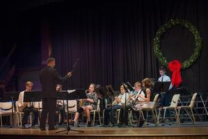 Advanced Band -Christmas In The Courtyard at Bishop Canevin 12-14-18 Mr.Alex Light Director-9759.JPG