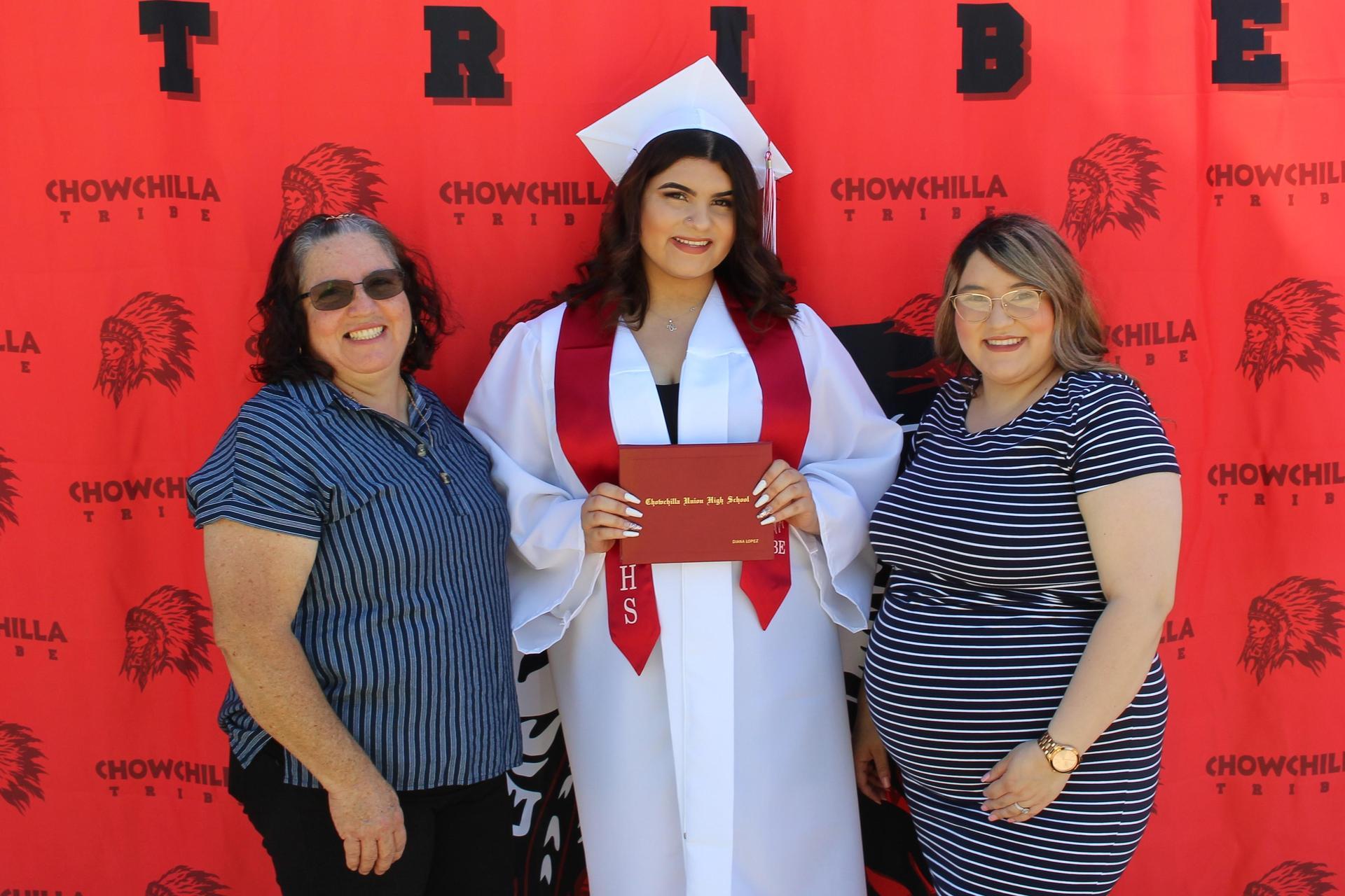 Diana Lopez and family