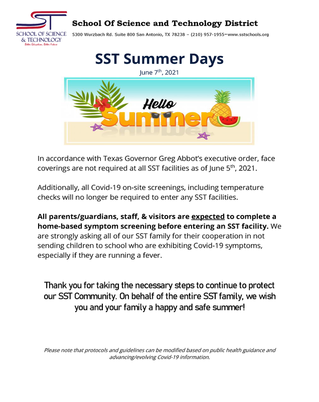 SST Summers Days Update Featured Photo