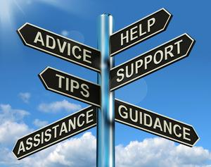 Career Guidance Sign