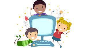 virtual learning clipart
