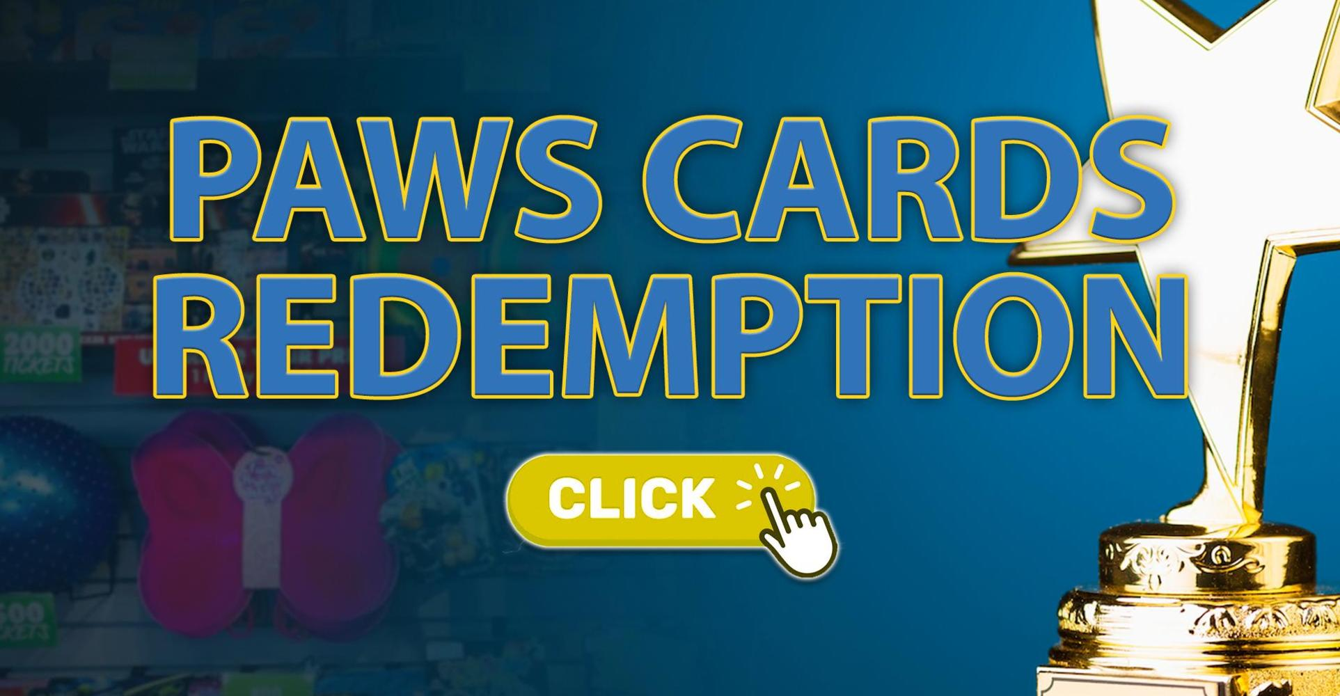Redeem Your 2021-2022 PAWS Cards Online!