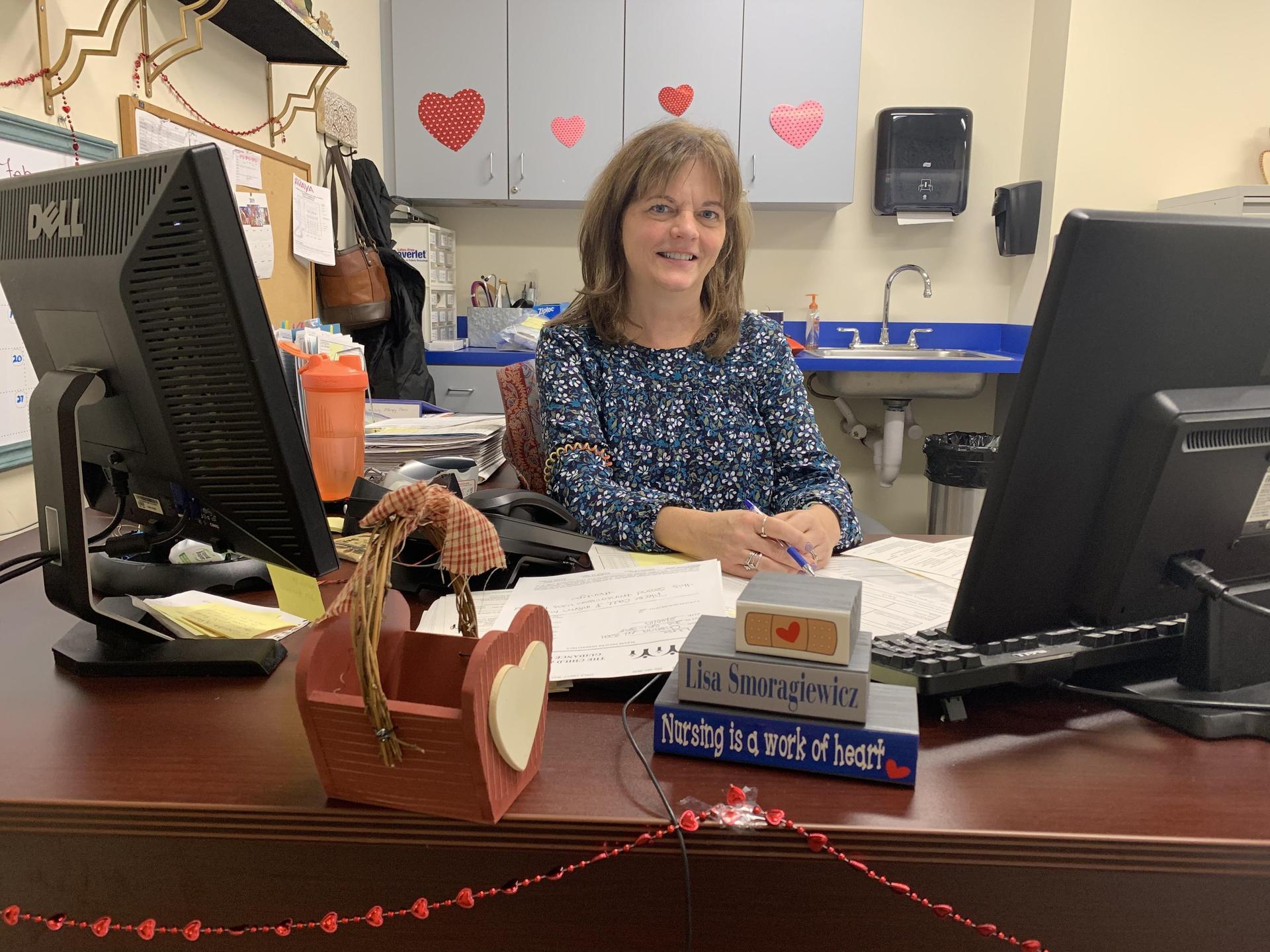 Lisa Smoragiewicz, School Nurse  203.384.2887 ext. 142