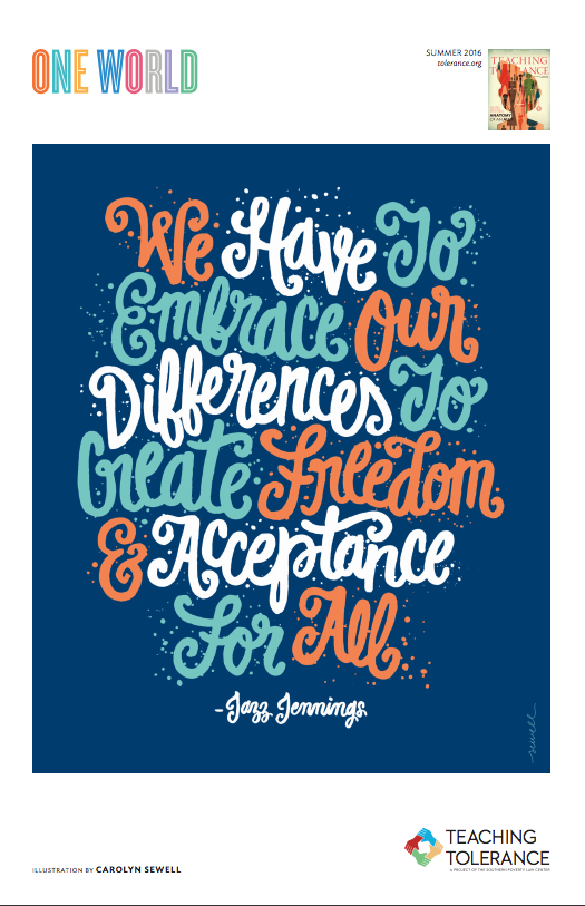 embracing differences poster