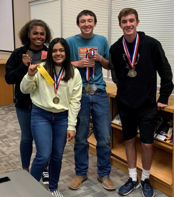 NDHS Competes in UIL Academic Meet in Floydada Featured Photo