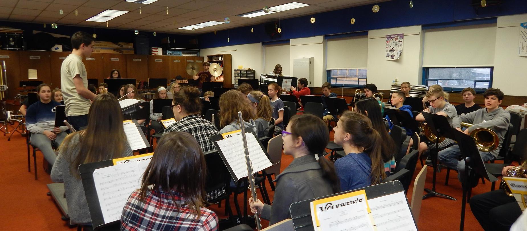 Harrold Music Students