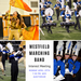 Photo montage announcing meeting for students interested in WHS Marching Band.