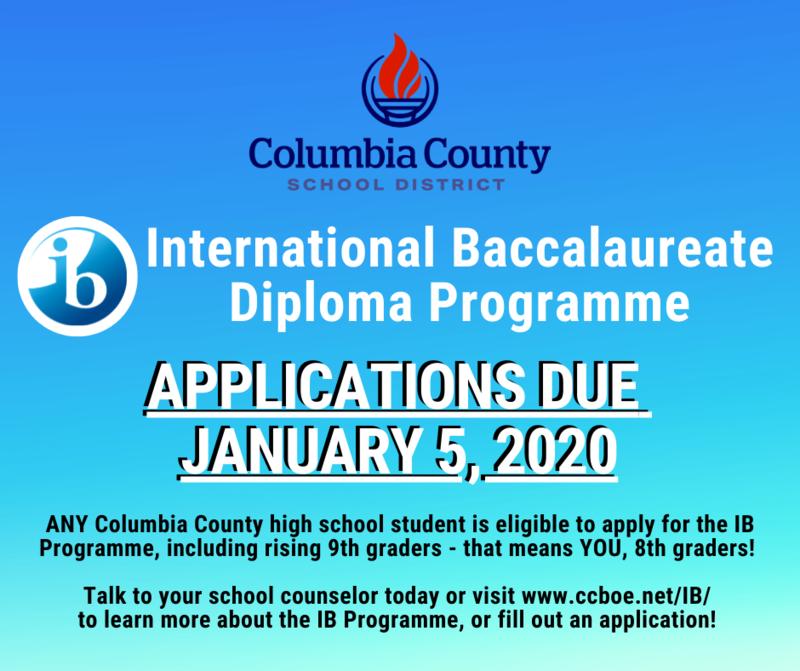 IB diploma programme flyer