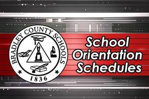 School Orientation Schedules