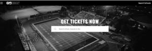 GoFan home page