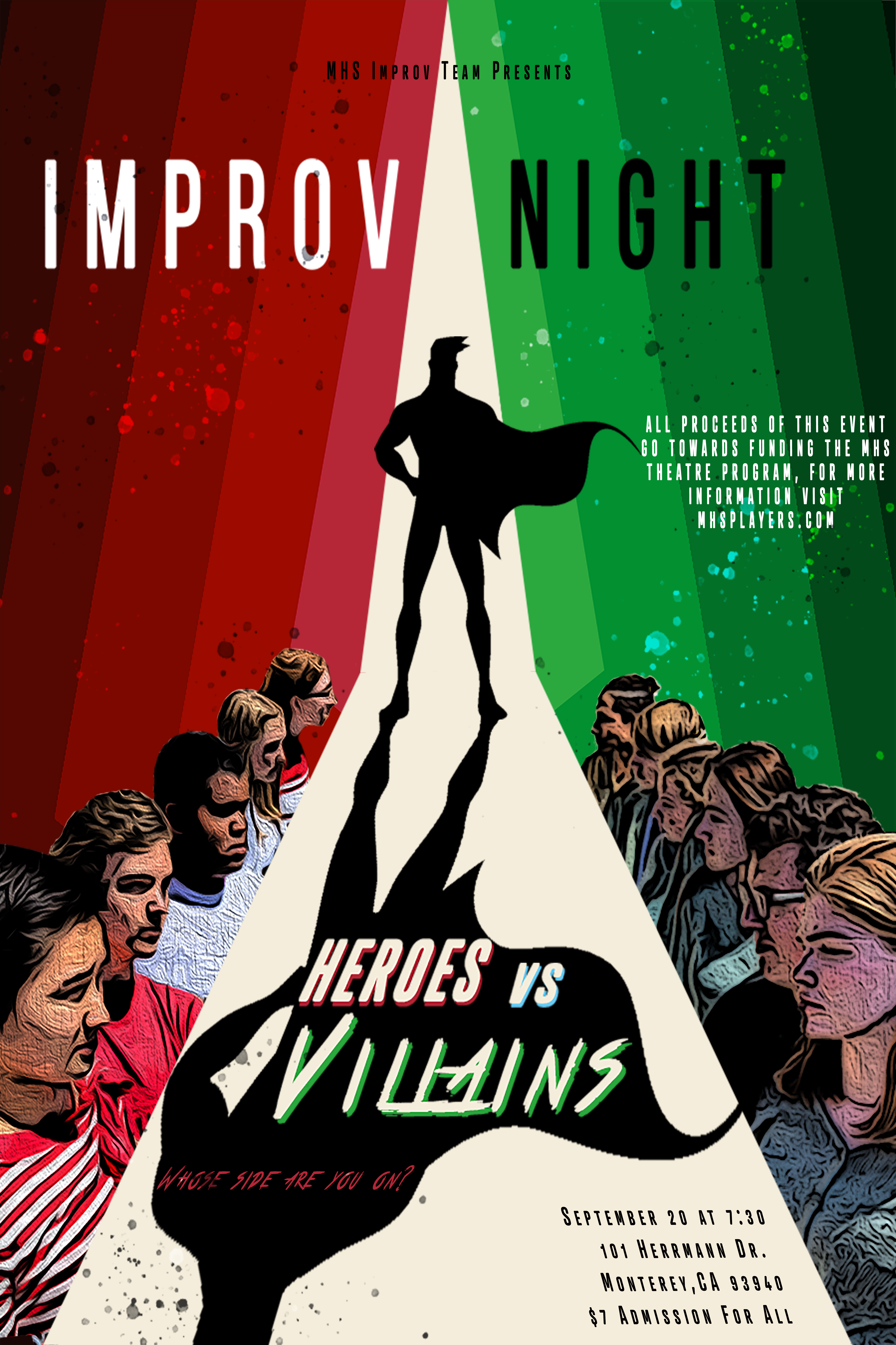 Improv Poster