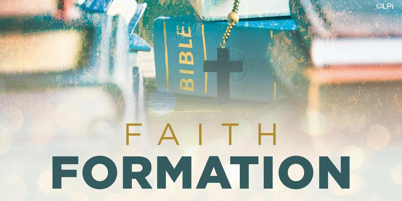 Register for Faith Formation Classes Thumbnail Image