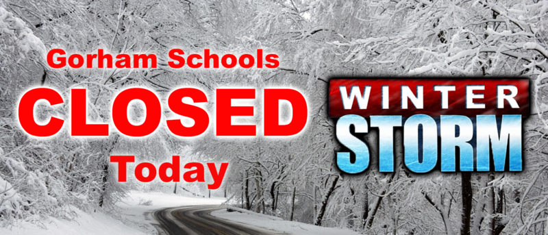 There will be NO SCHOOL TODAY, Tuesday,  Nov. 20, 2018 due to slippery road conditions which will persist throughout the day Thumbnail Image