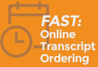 Order transcripts online