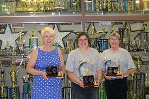 Retired teachers honored - Maxey, Parsons, McManis