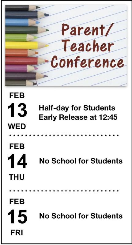 parent teacher conference schedule