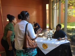 FCTC students at MEBA Reverse Career Fair.