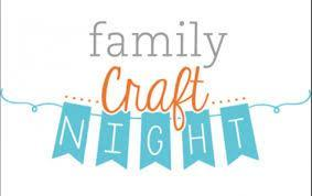 Family Craft Night December 11, 2019 Featured Photo