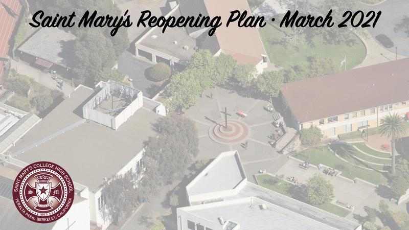 Saint Mary's Reopening Plan March 2021 Featured Photo