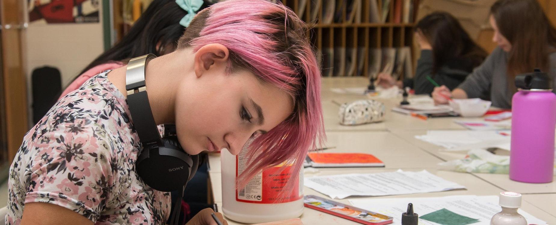 Mainland art student
