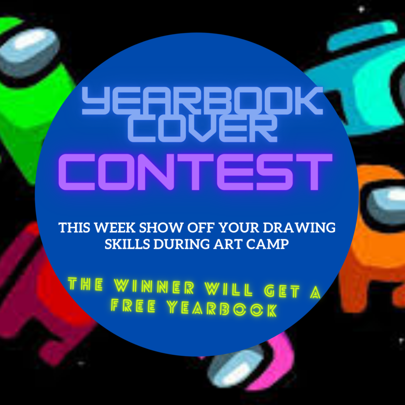 2020-2021 Yearbook Cover Contest Featured Photo