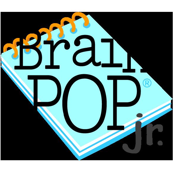 brain pop jr logo