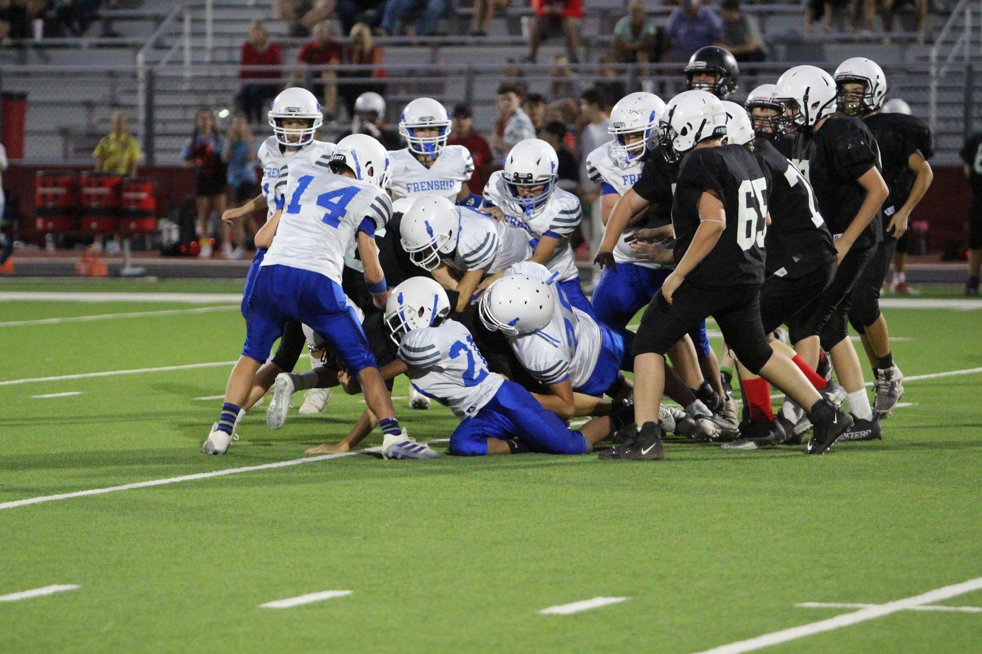 7th Grade Football vs Bush