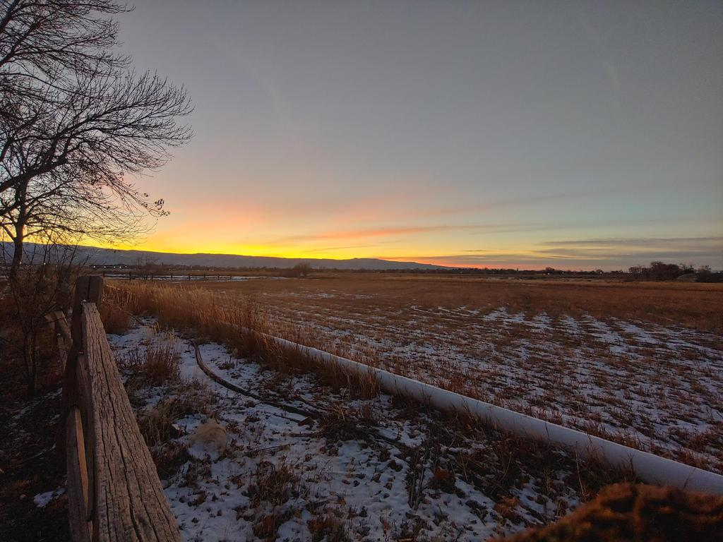 Last sunset of 2019 from IACS