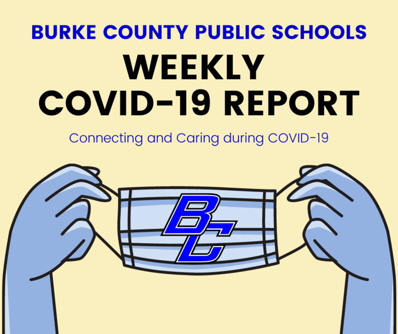 BCPS Weekly Covid Report Graphic