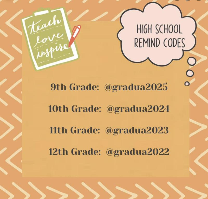 REMIND CODES FOR HIGH SCHOOL STUDENTS Featured Photo