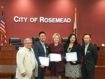 City of Rosemead Oath of Office Ceremony: April 9, 2019