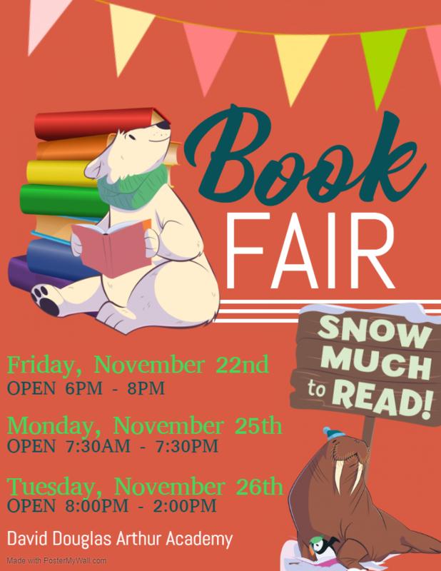 Book Fair! - November 25th & 26th Thumbnail Image