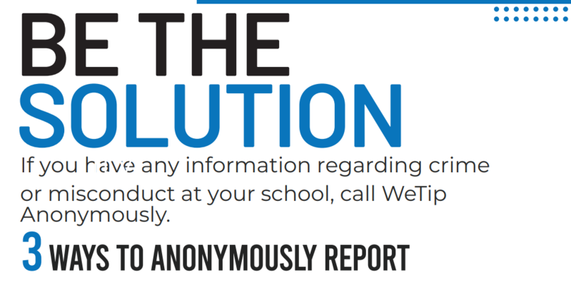 WeTip - Be the solution