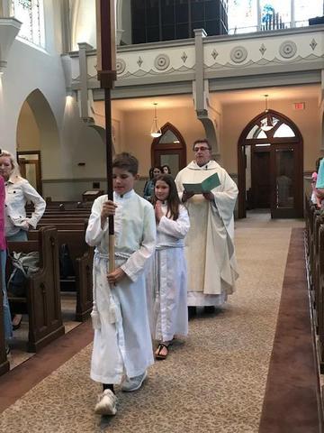End-of-school Mass