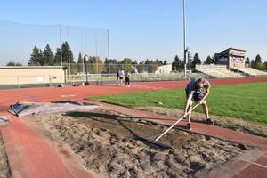 Track & Field training