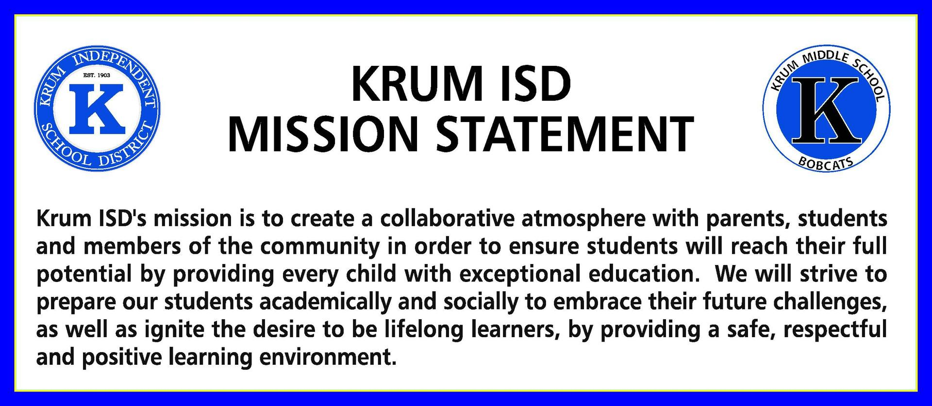 KISD Mission Statement