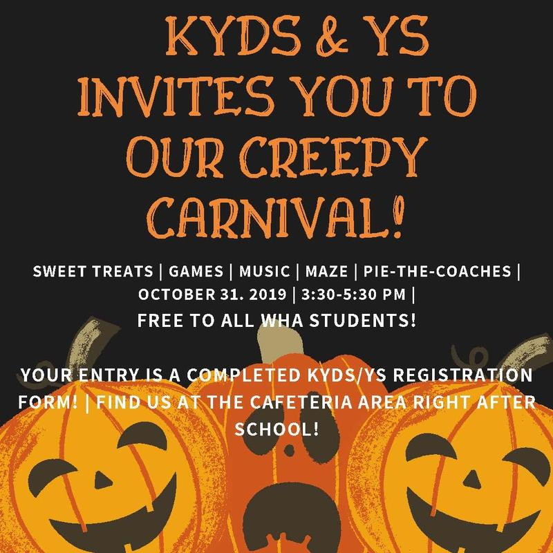 KYDS and YS Invite You to our Halloween Carnival! Thumbnail Image