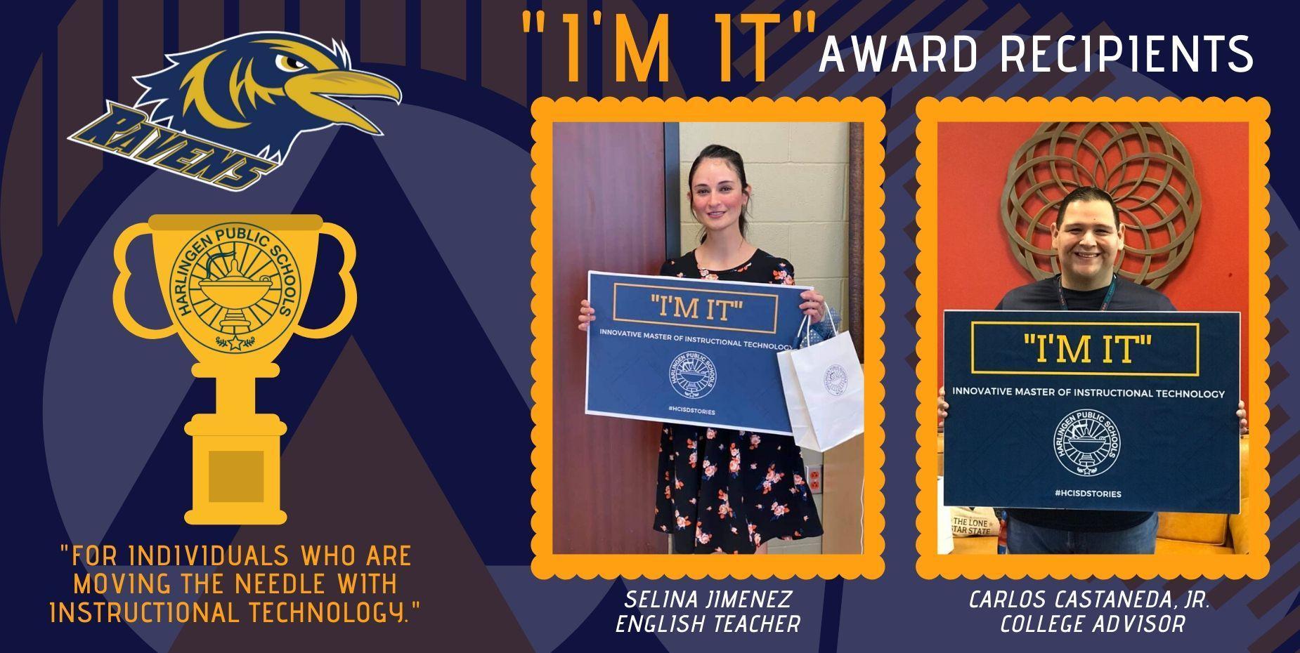 I'M IT!  Award Recipients
