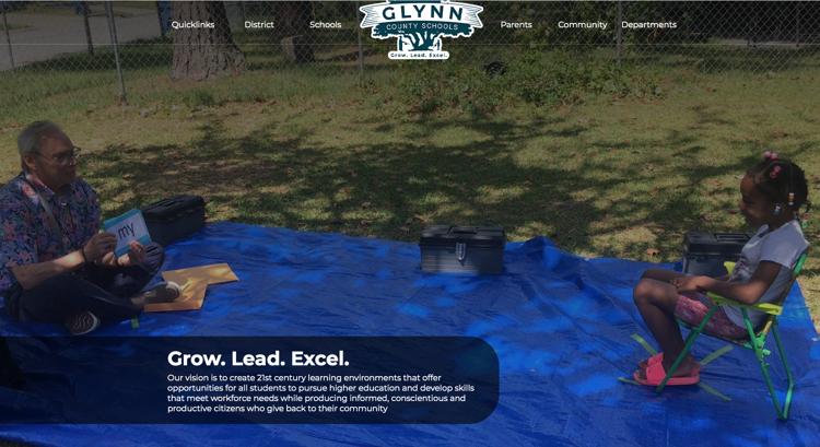 GCSS Website Screenshot