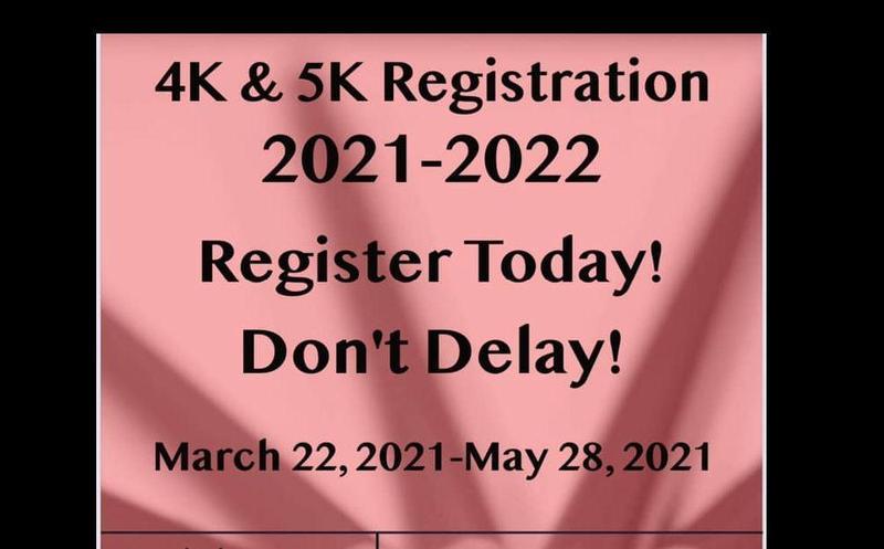 4K - 5K Registration