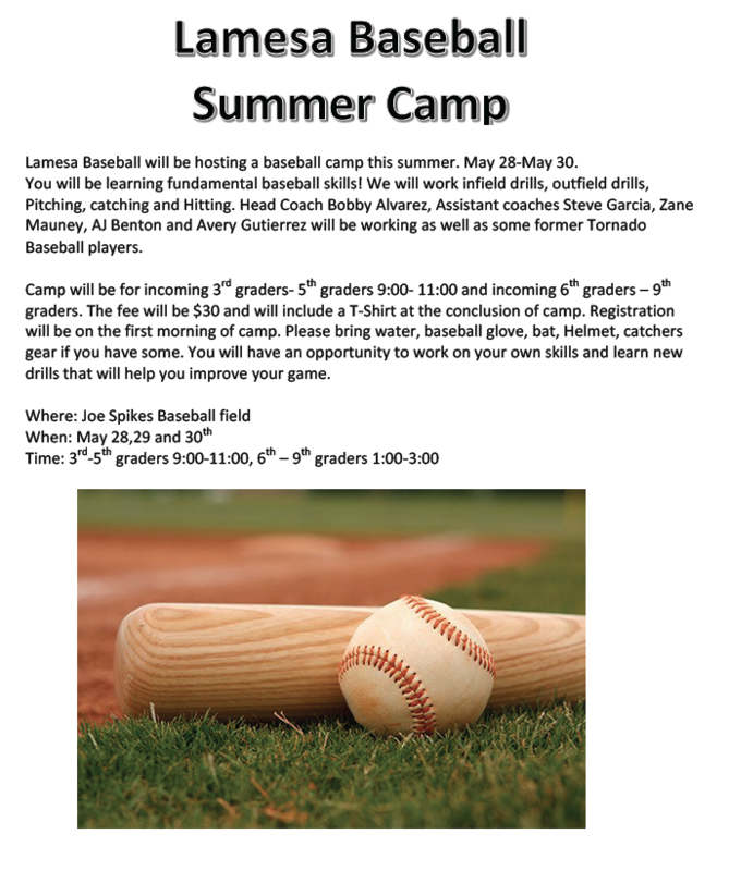 Summer Baseball Camp Thumbnail Image