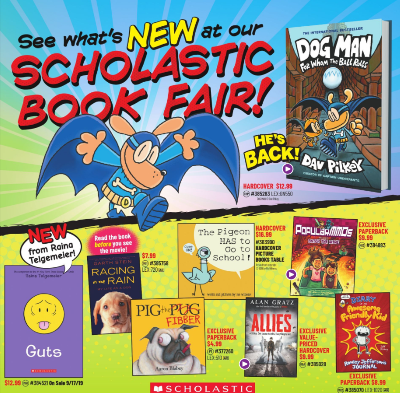 BGE Scholastic Bookfair Thumbnail Image