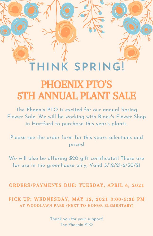 Flower Sale Flyer