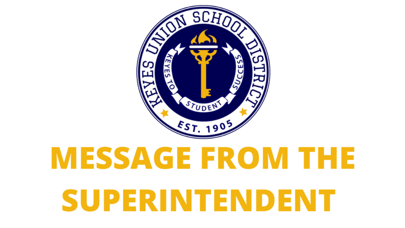 Superintendent Address on Reopening Featured Photo