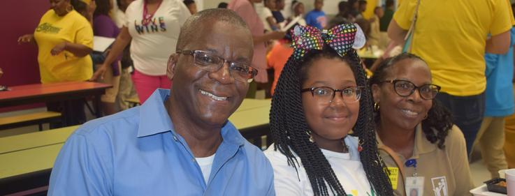 Grandparents Day Luncheon at Summit Elementary 2019