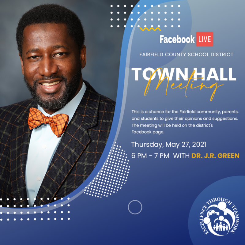 Town Hall Meeting With Dr. J.R. Green Featured Photo